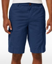 Tommy Hilfiger Men's Cargo Shorts Estate Blue