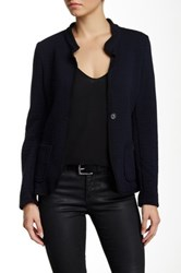 Luma Textured Jacket Blue