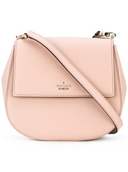 Kate Spade Saddle Shoulder Bag Women Calf Leather Polyester Polyurethane One Size Nude Neutrals