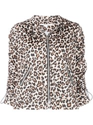 Veronica Beard Leopard Print Jacket Multicolour