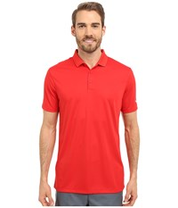 Nike Victory Solid Polo University Red White Men's Short Sleeve Pullover
