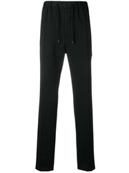 Fendi Drawstring Track Pants Black