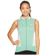 Pearl Izumi Select Escape Sleeveless Jersey Green Spruce Women's Sleeveless