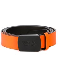 Dsquared2 Fluo Belt Yellow And Orange