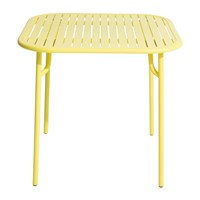 Petite Friture Week End Side Table Yellow