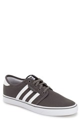 Men's Adidas 'Seeley' Skate Sneaker Ash White
