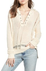 Scotch And Soda Oversize Beach Hoodie Color 0402 Antique White