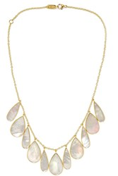 Ippolita Rock Candy 18 Karat Gold Mother Of Pearl Necklace One Size