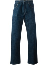 Universal Works Straight Leg Jeans Blue