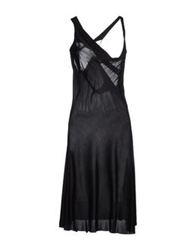 Richmond X Knee Length Dresses Black