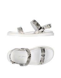 Bruno Bordese Footwear Sandals Women Grey