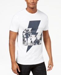 Inc International Concepts Men's Palm Bolt Graphic T Shirt Created For Macy's White