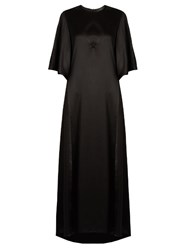 Ellery Louis Silk Satin Dress Black