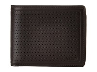 Tumi Bowery Center Flip Id Black Bi Fold Wallet