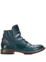 Moma Minsk Boots Blue