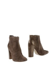 Aerin Ankle Boots Khaki