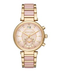 Michael Michael Kors 39Mm Chronograph Bracelet Watch Pink