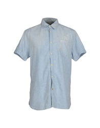 Scotch And Soda Shirts Blue