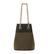 Elie Saab Small Stud Bucket Bag Female Black