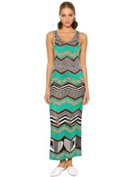 Missoni Zigzag Viscose Knit Dress