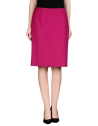 Marella Knee Length Skirts Garnet
