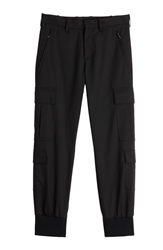 Neil Barrett Wool Cargo Pants