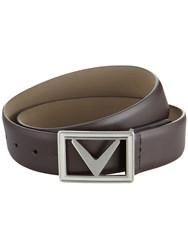 Callaway Modern Chev Belt Brown