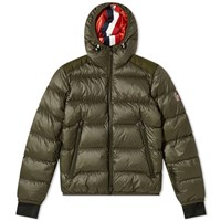 Moncler Grenoble Hintertux Hooded Down Ski Jacket Green