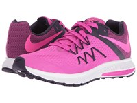 Nike Zoom Winflo 3 Fire Pink Purple Dynasty White Pink Blast Women's Running Shoes