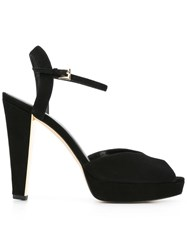 Michael Michael Kors Platform Sandals Black