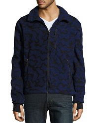 Hawke And Co Nord Zip Up Fleece Camo