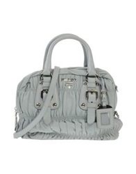 Prada Handbags Sky Blue