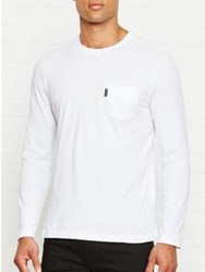 Aquascutum London Cullen Crew Neck Tee White