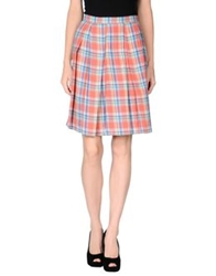 Boy By Band Of Outsiders Knee Length Skirts Salmon Pink