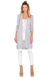 Obey Duster Cardigan Gray