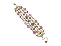 The Sak Multi Row Beaded Bracelet Pink Multi Bracelet