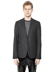 Calvin Klein Wool And Alpaca Pressed Boucle Jacket