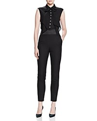 The Kooples Bow Jumpsuit Black