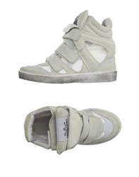 Le Crown Footwear High Tops And Trainers Women Beige
