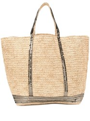 Vanessa Bruno Sequin Embellished Tote Neutrals