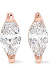 Anita Ko 18 Karat Rose Gold Diamond Earrings