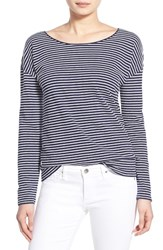 Women's Vineyard Vines Stripe Long Sleeve Tee