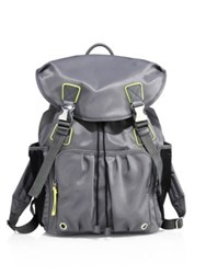 M Z Wallace Sporty Cece Backpack Medium Grey