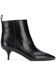 L'autre Chose Ponted Toe Boots Black