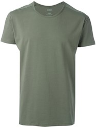 Closed Crew Neck T Shirt Green