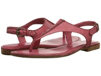 Frye Carson Seam T Papaya Soft Vintage Leather Women's Sandals Pink
