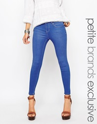 New Look Petite Supersoft Skinny Jean Duckeggblue