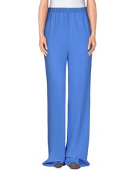 Ermanno Scervino Trousers Casual Trousers Women Azure