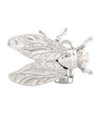 Balenciaga Fly Clip On Earring Silver