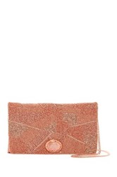 Mary Frances Beaded Clutch Pink